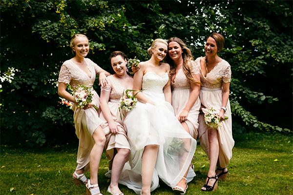 Bryllupsfotograf Gæster Utraditionelle billeder