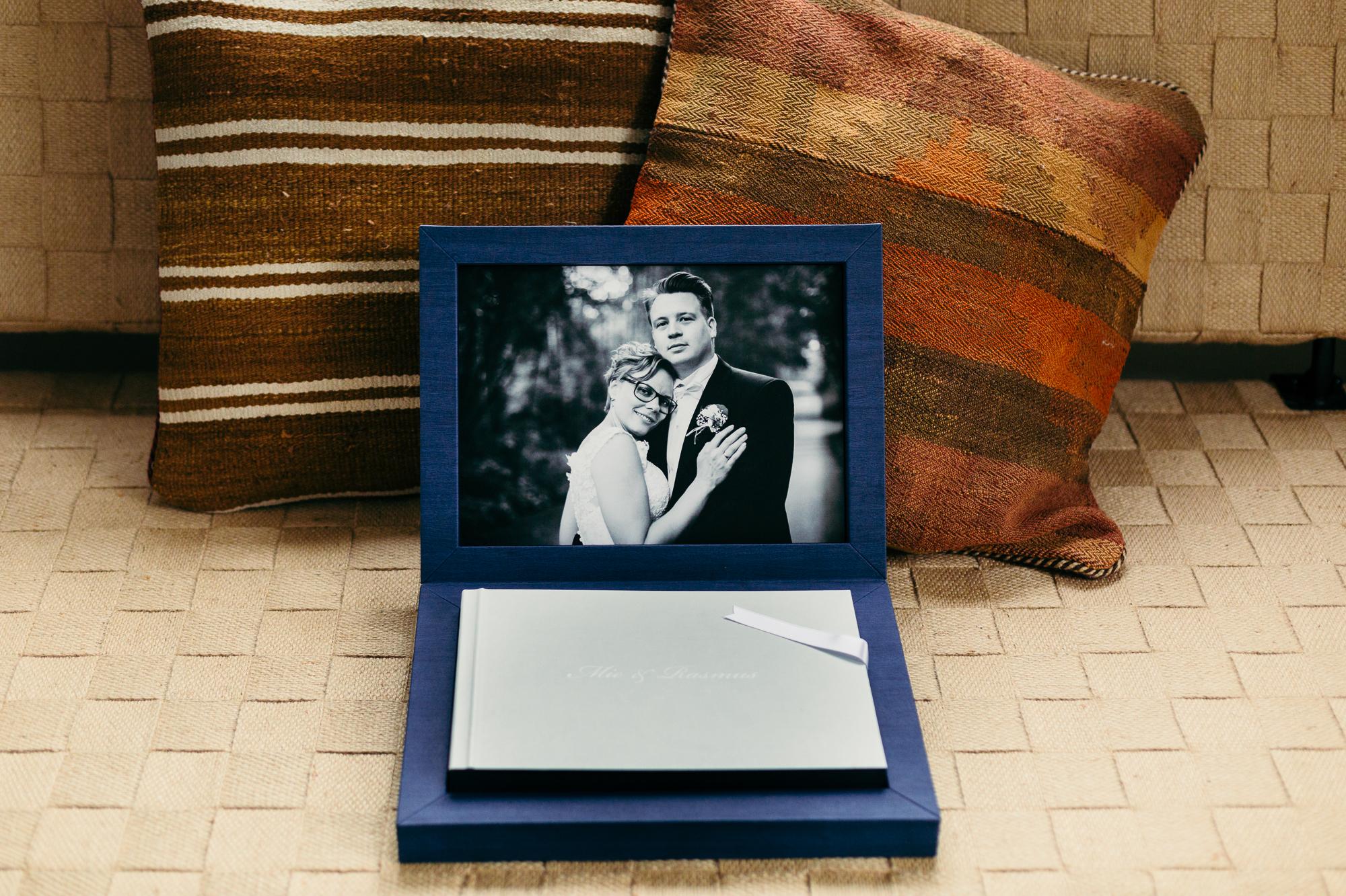 Eksklusiv Bryllupsalbum fotoalbum bryllupsfotograf