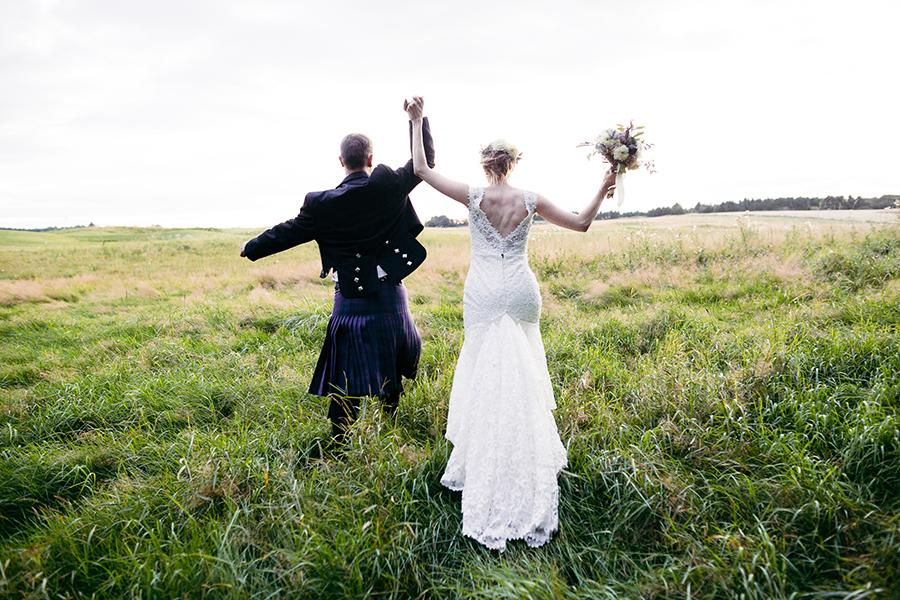 Autentisk bryllupsfotograf