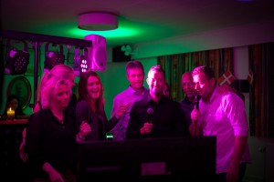 Karaoke til julefrokost 2014